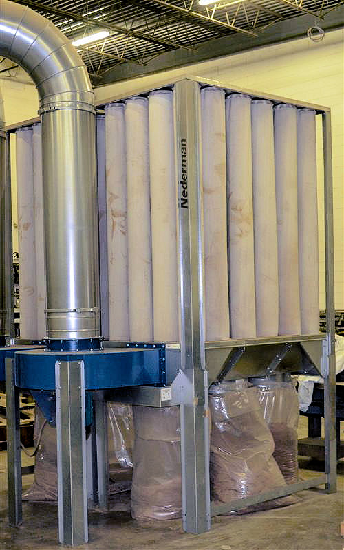 DUST COLLECTOR (FILTER BAG - INTERIOR)
