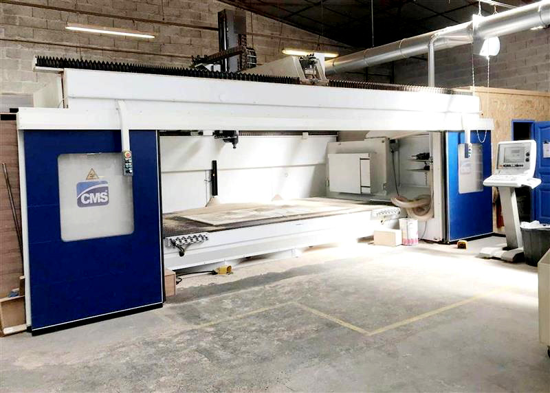 5-AXIS CNC ROUTER (W/TOOL CHANGER)