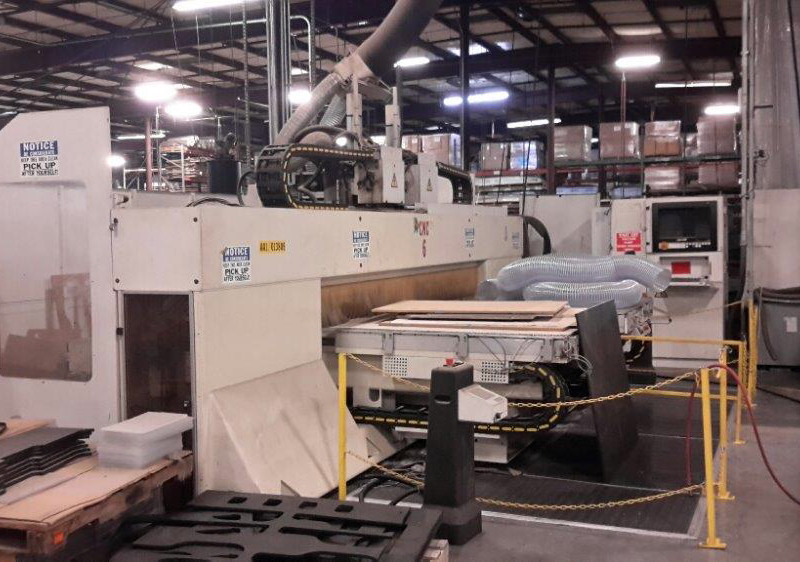 CNC ROUTER (TWIN TABLE & MULTI SPINDLE)