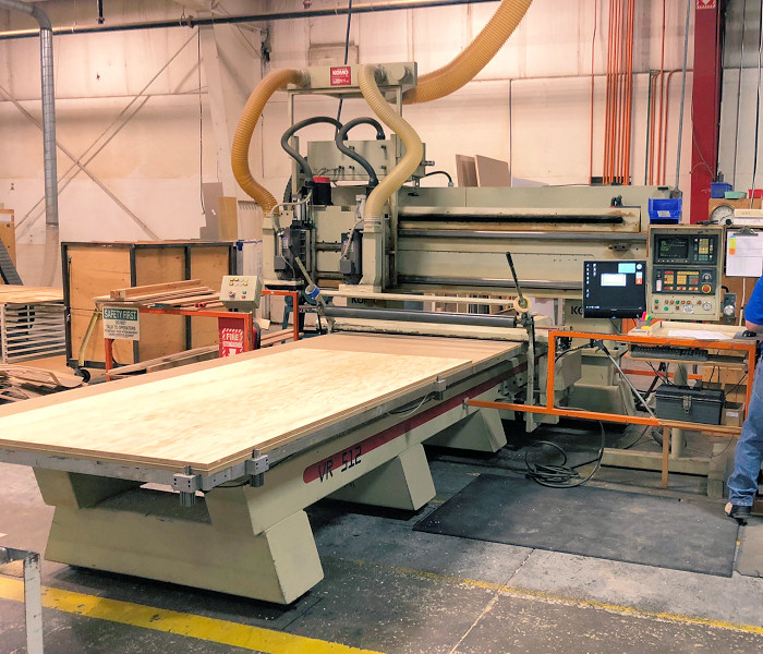 CNC ROUTER (W/ROLLER HOLDDOWN)