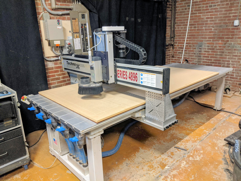 CNC ROUTER (SINGLE SPINDLE)