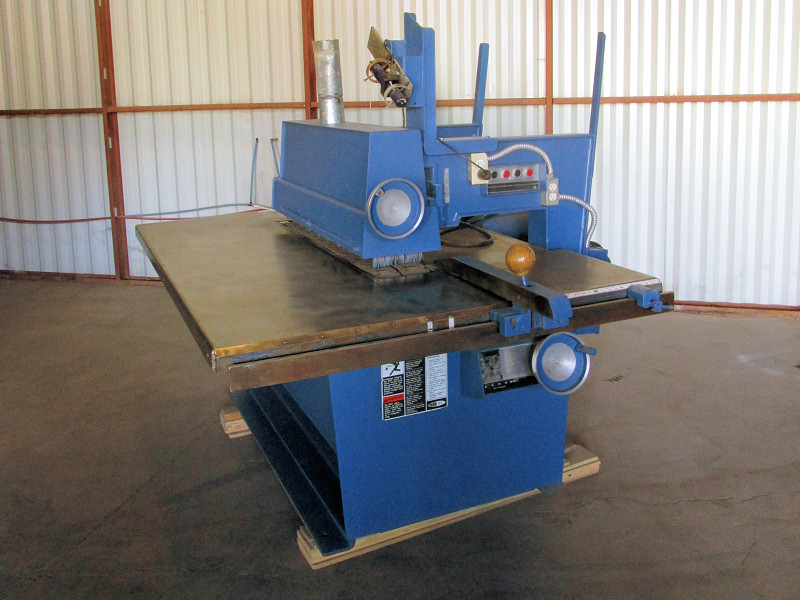 STRAIGHT LINE RIP-SAW (SINGLE BLADE)