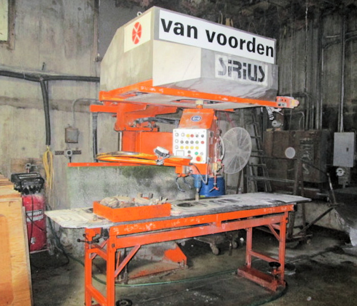 RADIAL ARM POLISHER
