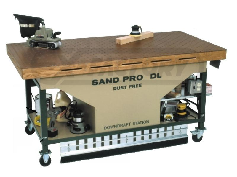 New Sandman Dl7236 Downdraft Sanding Table