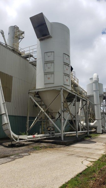 BAGHOUSE DUST COLLECTOR (REVERSE AIR FAN)