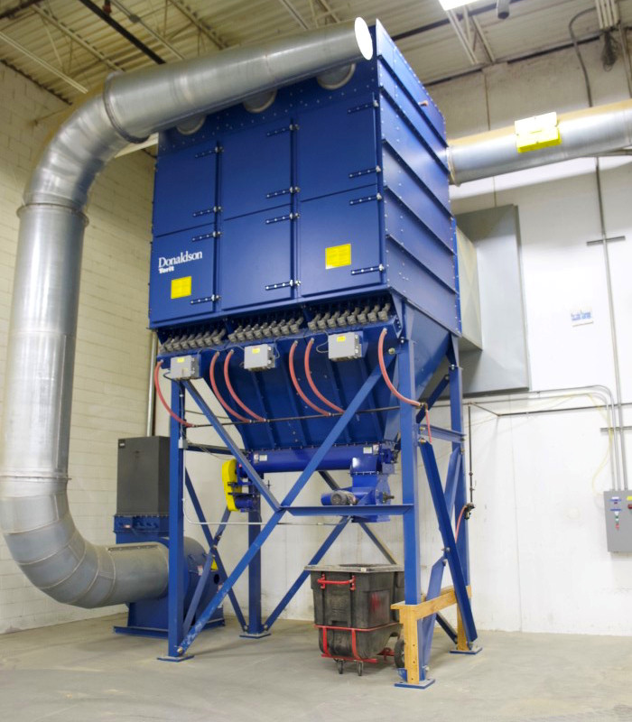 BAGHOUSE DUST COLLECTOR (PULSE JET)