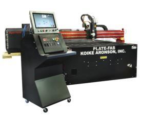 New KOIKE ARONSON PLATE-FAB 612 PLASMA (CNC)