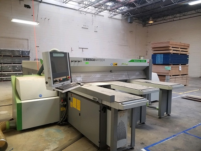 FRONT LOAD, AUTOMATIC PANEL SAW