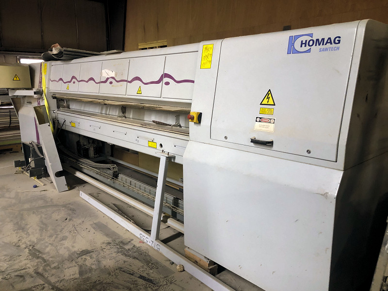 FRONT LOAD, AUTO. PANEL SAW