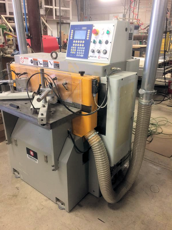 CNC ROUND END TENONER & MORTISER