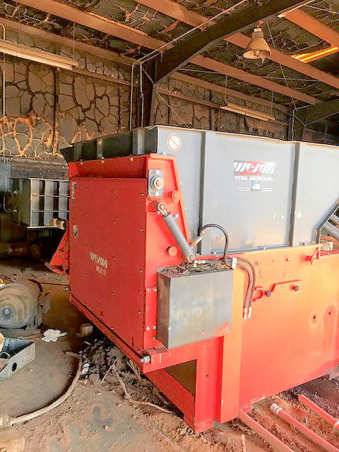 WASTE GRINDER (VERTICAL HOPPER FED)